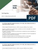 AULA 1.3 - Balanço Patrimonial, DRE e DRA