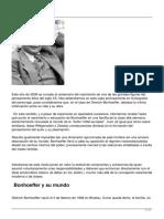 Bonhoeffer, Dietrich - Fe y humanismo