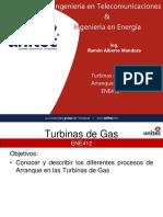 3. Arranque y O&M turbinas de Gas