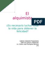 El alquimista_ensayo
