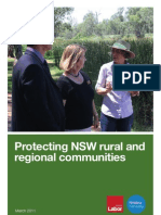 Rural and Regional NSW
