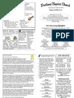 110320 PBC Bulletin - March 20