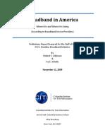 Broadband in America Nov 12