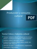 Producción y consumo cultural