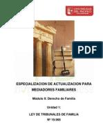 Unidad 1 Ley Tribunales de Familia Nº 19.968