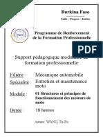 58. Entretien et maintenance moto_Structures et principes de fonctionnement des moteurs de moto