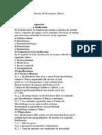 Criterios de Diseño para laboratorios clinico