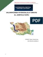 307892635 Program de Valorificare a Potentialului Turistic Gorj