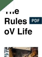 The Rules oV Life
