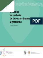 Desafíos en Materia de Derechos Humanos y Garantías Obra Colectiva