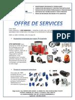 Offre de Service Gtn Services DD
