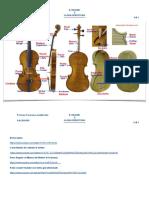 1° approfondimento - La struttura del violino