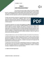 Tema 5 Estudio Organizacional