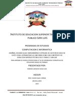 Instituto de Educacion Superior Tecnologico Publico San Luis