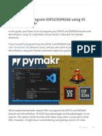 MicroPython Program ESP32_ESP8266 vs Code and Pymakr _ Random Nerd Tutorials