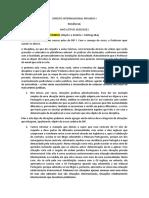 Teóricas Direito Internacional Privado  final