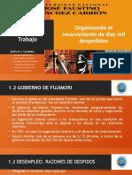 Caso 4-2021 - Ministerio de Trabajo - Grupo N° 6 - PRESENTACION