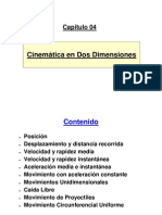 Fisica - Cap 04 - Cinematic A en 2 Dimensiones
