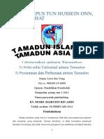 TITAS- Interaksi antara Tamadun Assignment
