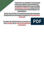 FMS-Transformation Laplace-RSD