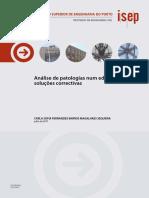 Análise de Patologias Num Edifício e Soluções Correctivas.pdf Artigo de Porto