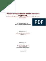 Enterprise Management Framework
