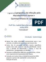 Vigilância geográfica da infecção pelo Mycobacterium leprae _CREDESH_UFU_Reunião_Anual