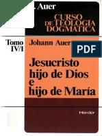 Jesucristo Hijo de Dios e Hijo de Maria Auer Johann HERDER 3iBy1cxtoDppCXTsh7417whpw