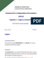as - Capitulo 01 - Logica y Conjuntos