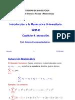 MATEMATICAS - CAPITULO 04 - INDUCCION