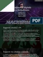 Cittadinanza Digitale Cyberbullismo