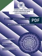 Módulo de Planeamento de Recursos Humanos Ead Isgecof