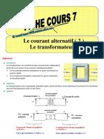 Cours Transformateur Web