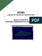 Manuel RDM6