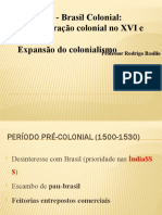 06 ONLINE- Brasil Colonial - Adm Colonial + Expansão [COMENTADA]