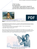 Os novos magnatas do petróleo no Brasil