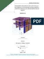 Memoria de Cálculo Estructuras MODULO 1-A