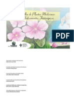 Cartilha de Plantas Medicinais e Medicamentos Fitoterápicos