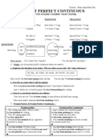 Present Perfect Continuous (2pg)