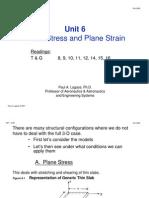 unit6 mit plane stress and strain