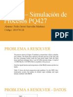 Tarea 5 – Simulación de Procesos PQ427