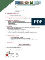 REGLA DE TRES E INTERES SIMPLE  QUINTO AÑO  PRIMERA SESION SEGUNDO BIMESTRE