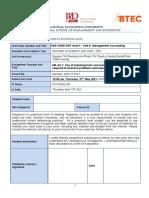 MA Assignment Brief A2.1 SPRING 2021