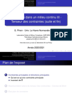 MMC M1 COURS03 Tenseur Contrainte Suite