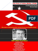 CPI (M) Capitalist Party of Indian ( Mafias)