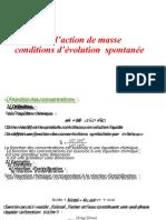Loi d'Action de Masse