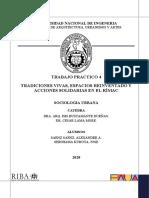 TRADICIONES VIVAS, ESPACIOS REINVENTADO Y ACCIONES SOLIDARIAS EN EL RÍMAC