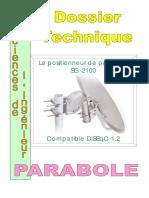 Le positionneur de parabole SG-2100