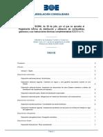 Reglamento técnico de distribución y utilización de comustibles gaseosos