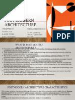 Post modern architecture by kanika jain